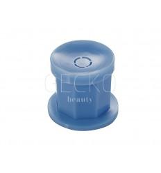 Vaso de plástico azul
