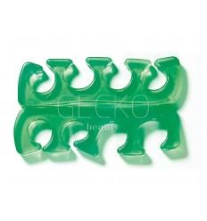 1 par de separadores de dedos del pie silicona