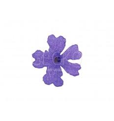 Adornos para uñas flores secas - violet