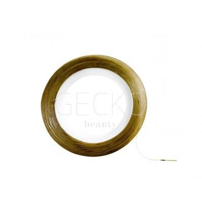 Adornos adhesivos para uñas cinta oro