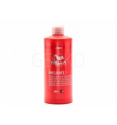 CHAMPU CABELLO COLOR/GRUESO BRILLIANCE 500ML WELLA
